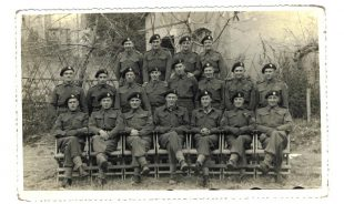 Ernest Shackleton and regiment, Copyright Age UK, All rights reserved