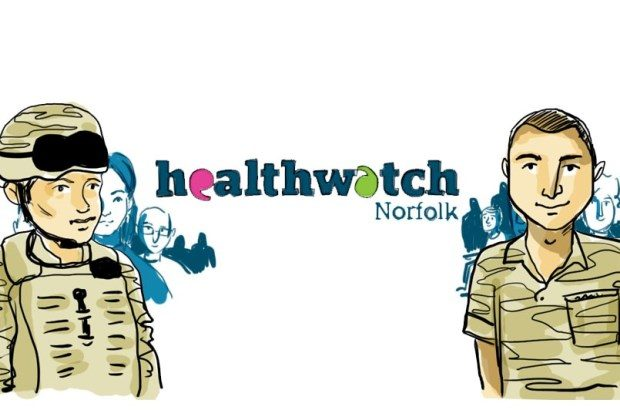 Drawing of Healthwatch Norfolk © Healthwatch Norfolk