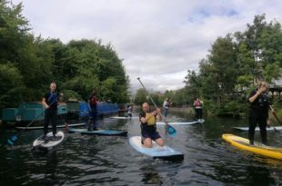 Participants on the programme on the river, Copyright QPR, All rights reserved